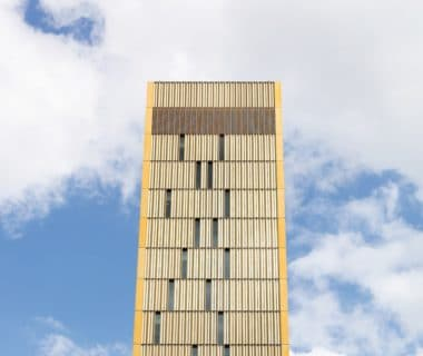 Edificio che ospita la Corte di giustizia Europea